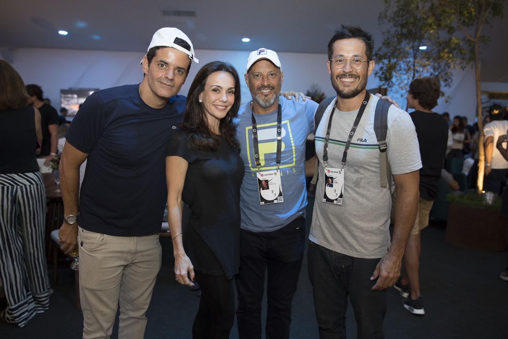 Coquetel da Rolex agita o Corcovado Club no Rio Open