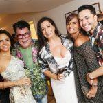 Lene Devictor, Milton Cunha, Ana Torres, Marcia Eccheverria e Vinicius Belo