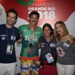 Luiz Fernando, Gian, Fernanda Pereira e Liège Monteiro