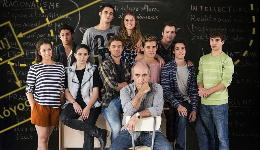 Merlí e seus alunos: série catalã exibida pela Netflix é programa imperdível. Charme puro do protagonista e seus alunos