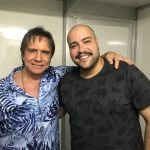 Roberto Carlos e Tiago Abravanel