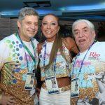 Bernardo Casteja, Christina Leite e Helmar Braga