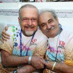 Ricardo Cravo Albin e Ancelmo Gois