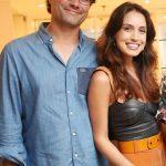 Thiago Valente e Rebeca Sampaio