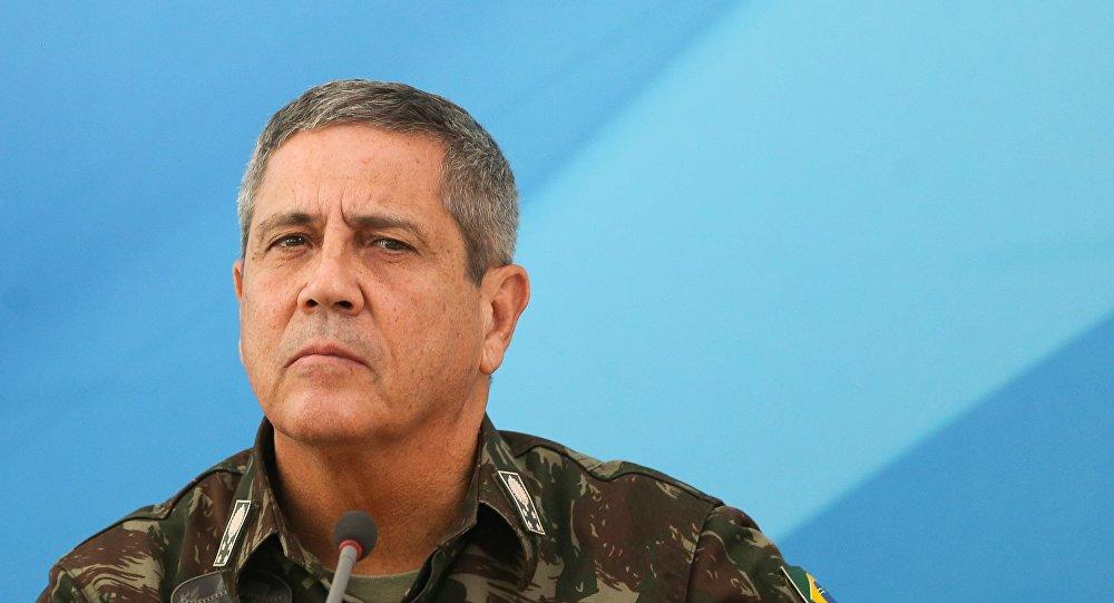 General Braga Netto fala sobre a intervenção federal na sede da ACRJ