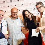 Danio Braga, Paulo Nicolay, Daniella Teich e Pedro Mello e Souza
