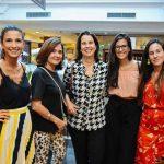 Thais Souza, Ana Andreazza, Ana Medrado, Paula Bandeira e Bruna Barros