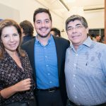 Ana Carolina Siniscalchi, Felipe Siqueira e Flavio Siniscalchi