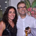 Ana Luiza Rego e Milton Abirached