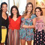 Bia Mariz, Carol Antunes, Georgeana Godinho e Laura Vilela