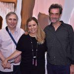 Carlos Zílio, Cassia Bomeny e Arnaldo de Melo
