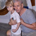 Daniel Feingold e filho Dante