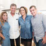 Denize Mattos, Alberto Osorio, Renata Joca e Luiz Romano