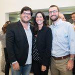 Frederico Almeida, Mariella Kelly e Gabriel Sauer