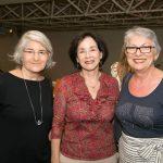 Jaqueline de Barros, Sonia Saraiva e Margarida Badeschi