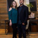 Joao Brassaroto e Sarah Lopes