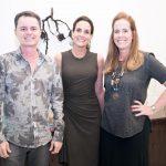 Jose Ruffino, Claudia Almeida e Andrea de Baère