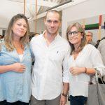 Juliana Pereira, Paulo Rocha e Luciana Pereira