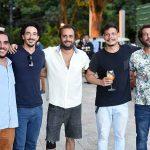Lair Uaracy, Marcio Regaleira, Rafael Inacio, Rafael Meggetto e Miguel Sereno