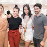 Lara Torres, Chrystal Versini, Priscila Simon e JC Lopes
