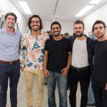 Manuel, Daniel , Luis Blanco, Alexandre Baltazar e Demian Jacob