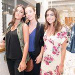 Michelle Lazzarotti, Aline de Bairros e Isabela Goldfarb