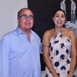 Carlos Leal e Elisângela Sattamni