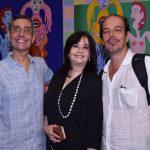 Artur e Cynthia Fidalgo com Marcos Bonisson
