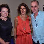 Cristina Burlamaqui, Rachel Sabbagh e Ricardo Becker