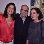 Patrícia Costa, Luiz Aquila e Vânia Castro Lopes