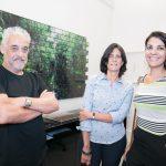 Paulo Grijó, Ana Amelia Velloso e Manuela de Lorenzo