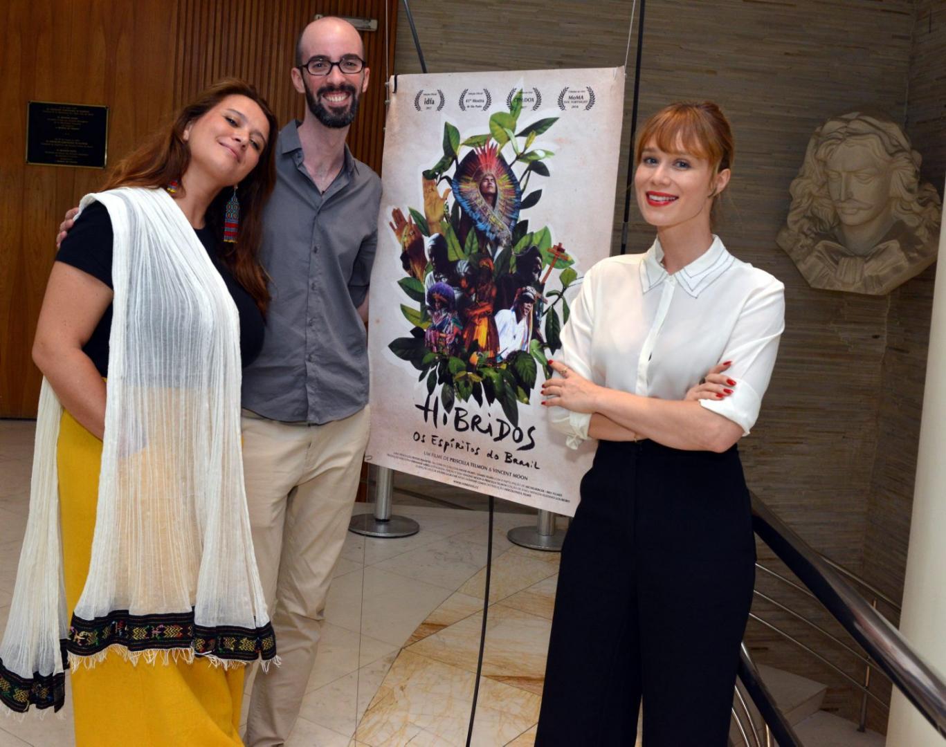 """""""Híbridos, os Espíritos do Brasil"""" estreia no Cine Maison"""