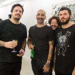 Rafael Plaisant, Pedro Sanchez, Tadeu dos Anjos e Elvis Almeida
