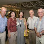 Vitorio Siqueira, Sonia Saraiva, Tete_ Machado, Jose Fernando e Roberto Machado