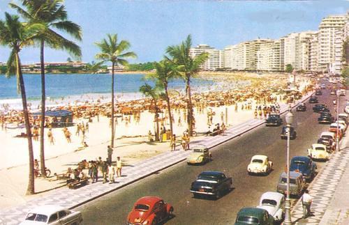 A praia de Copacabana dos meus tempos de criança