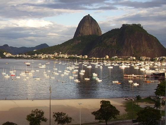 A Enseada de Botafogo: deslumbrante postal do Rio