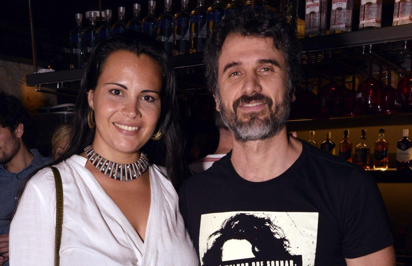 Eriberto Leão assiste  show do cantor  Otto, no Rio