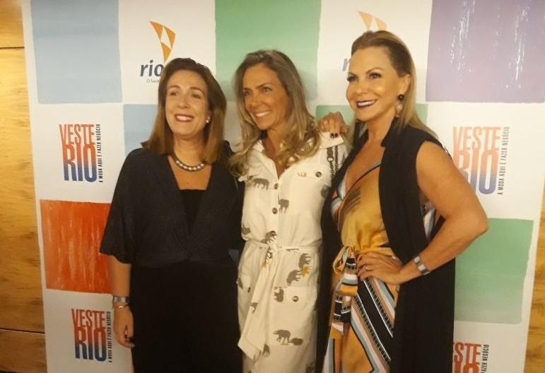 Coquetel de lançamento do Veste Rio agita noite carioca