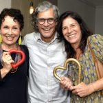 Analu Prestes, Ricardo Hachiya e Fernanda Pinto