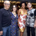 Rubens de Araújo , Thaís Portinho, Maria Ceiça e Bayard Tonelli