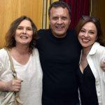 Louise Cardoso, Victor Garcia Peralta e Guta Stresser