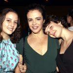 Luciana Braga com as filhas Laura e Isabel