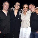 Gonzalo Demaria, Ana Beatriz Nogueira, Zélia Duncan e Victor Garcia Peralta