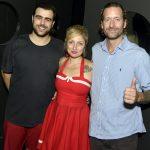 Sacha, Alessandra Debs e Dan Maridor