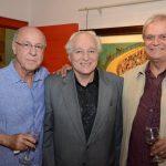 Evandro Carneiro, Alfredo Grieco e Eduardo Clark