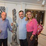 Evandro Carneiro, Luiz Fernando e Denise Dannemann