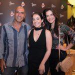 Fernando Matos, Carol Scarpinelli e Kiria Gracie