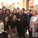 Carlos Alberto Serpa com o grupo de amigos