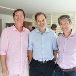 Angelo Baroncini, David Zilbersztajn e Jose Castro Neves