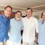 Janyck Daudet, Ricardo Taboaco, Cesar Ramos Filho e Paulo Romano